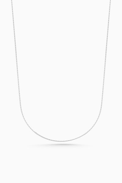 Round Fuse Necklace | Silver