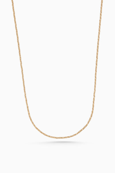 Lace Necklace | Gold