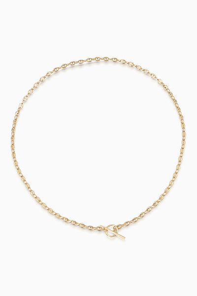 Spear Fob Necklace | Gold