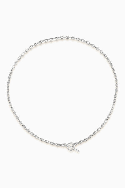 Spear Fob Necklace | Silver