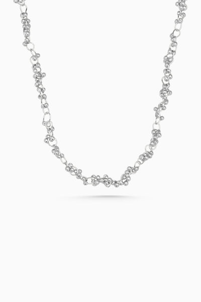 Cherrie Necklace | Silver