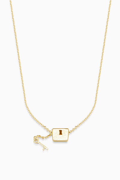 Baggage Necklace | Gold