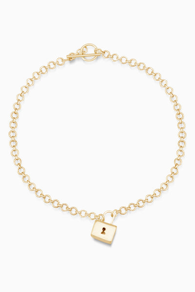 XL Baggage Necklace | Gold