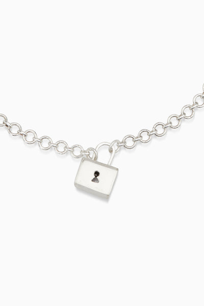 XL Baggage Necklace | Silver