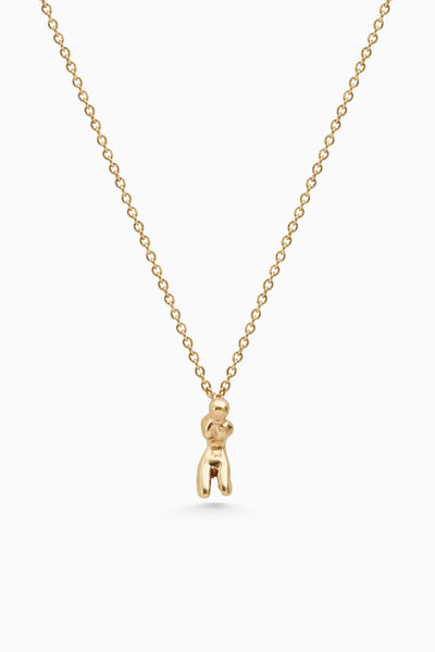 Little Lady Necklace | Gold