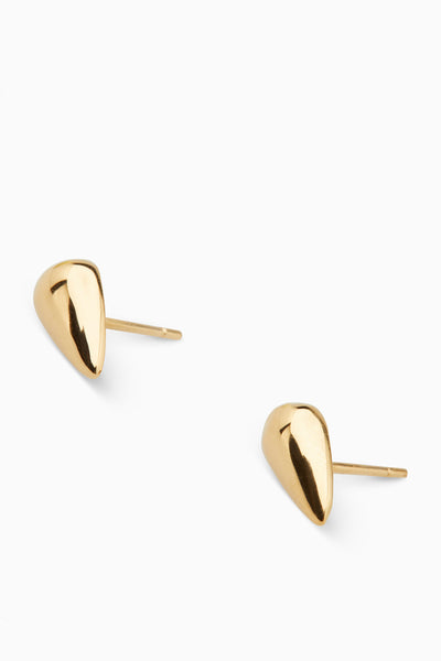 Tear Drop Studs | Gold