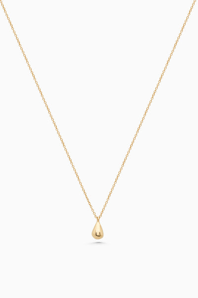 Tear Drop Necklace | Gold