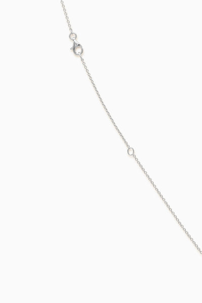 Tear Drop Necklace | Silver