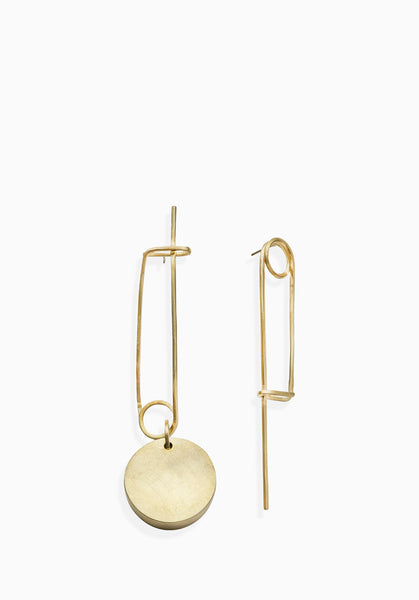 Silhouette Earrings | Gold