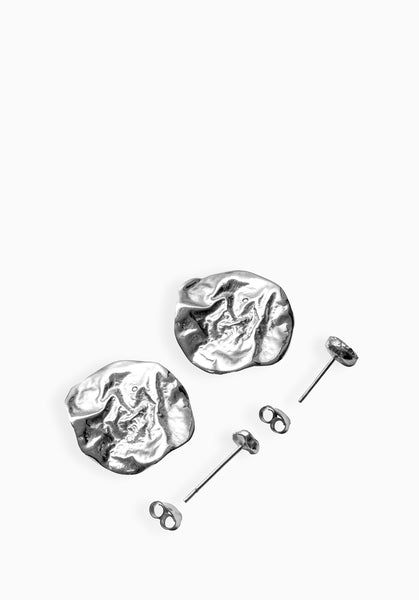 Lithe Layered Earrings | Silver