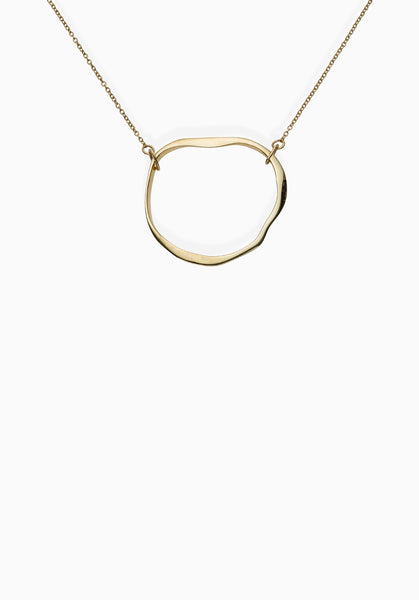 Contour Necklace | Gold