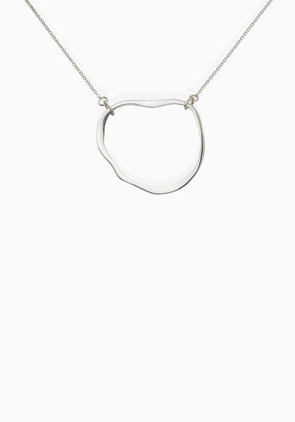 Contour Necklace | Silver