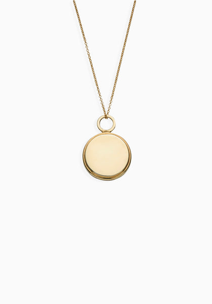 Terrene Necklace | Gold