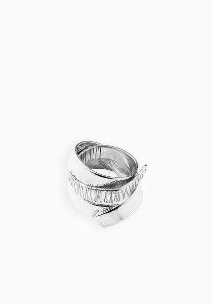 Indent Ring | Silver