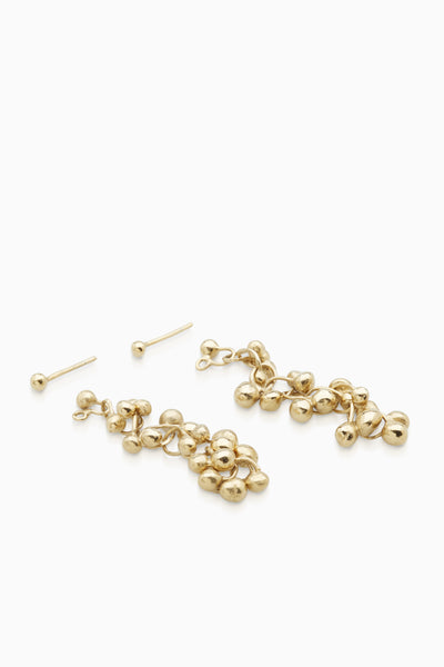 Chime Earrings  |  Gold
