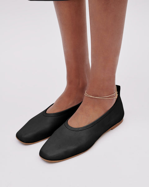 The Foundation Flat | Black