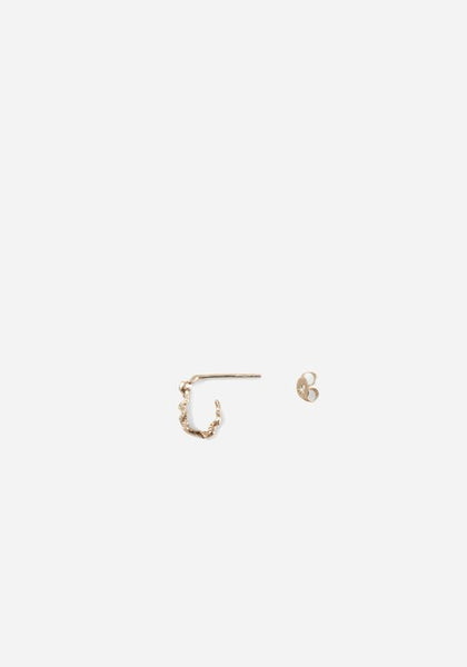 Nest Hoops  |  Gold