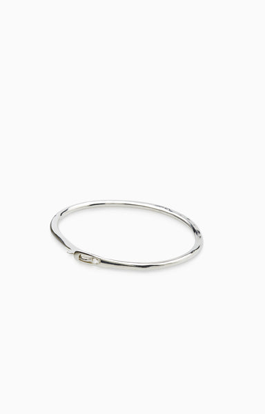 Catch Bangle | Silver