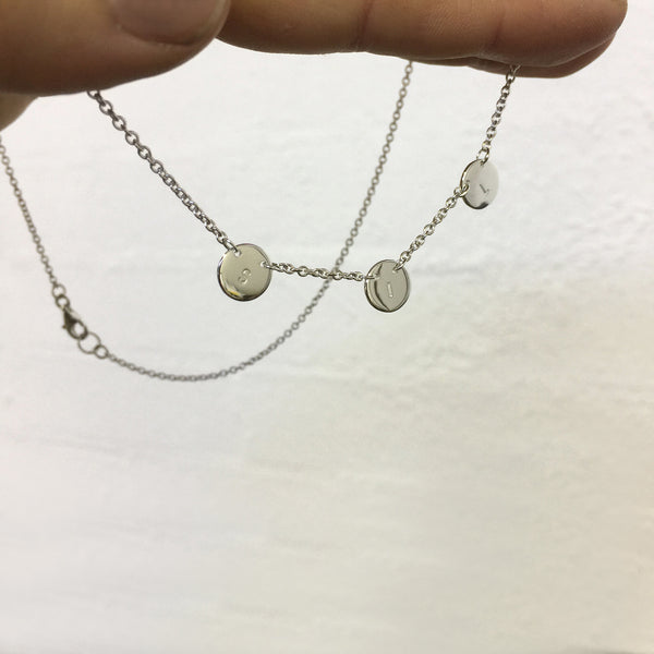 Multi Disc Necklace