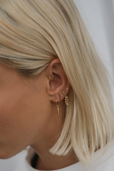 Cherrie Earrings | Gold