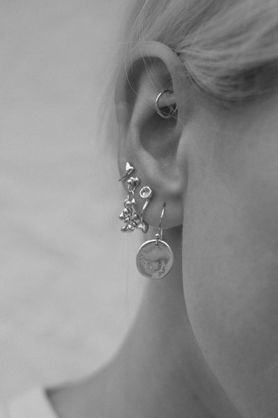 Blossom Earrings | Silver