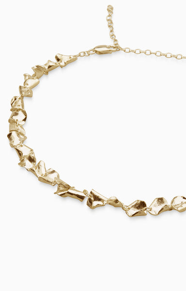 Veil Necklace  | Gold