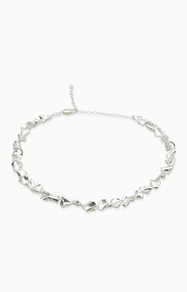 Veil Necklace  | Silver