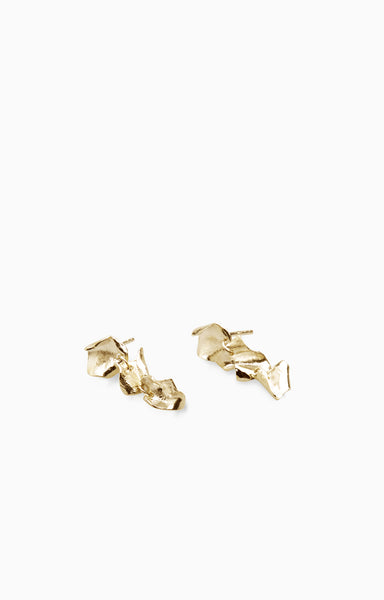 Mini Veil Earrings 2.0 |  Gold