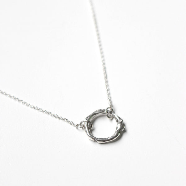 Organic Circle Necklace