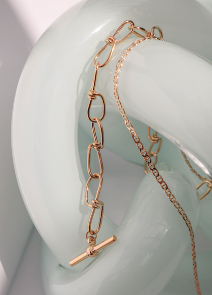 Infinity Necklace | Gold