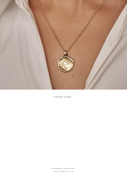 GIFT BOX - CLASSIC Fingerprint Necklace | Rose Gold