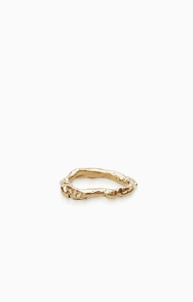 Swivel Ring |  9k Gold