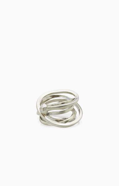 Whisk Ring |  Silver