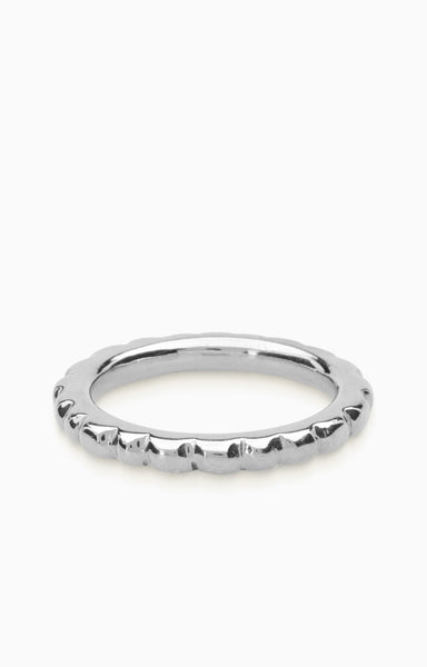 Track Ring |  Silver