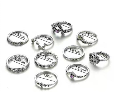 Utopia Rings Set