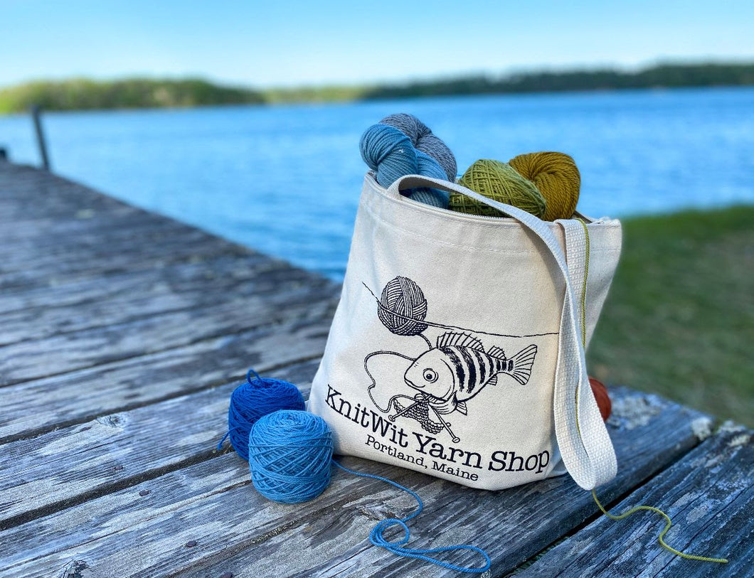 Exclusive KnitWit 2020 Shop Bags