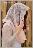 Catholic Chapel Veils EVM28 - Eternity Veil -The Infinity Veil Original, in Luxurious Chantilly