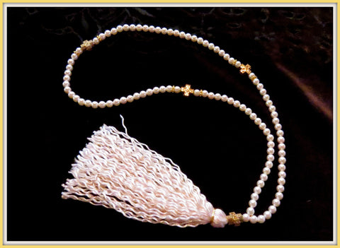 Panagia's Pearls 100 bead keepsake prayer rope - PR1