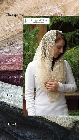 Infinity Veil EV2 -- Eternity Veil Headcovering - The Infinity Chapel Veil Original ~ Many Colors
