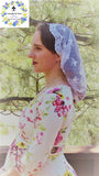 Christian Catholic Mantilla - Communion Veil Chapel Veil Headcovering Headscarf Mantilla Mass Veil by Liturgical Time ~SCT51