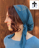 Christian Tichel Headcovering CP1b -  Pretied Veil Christian Headcovering Cap