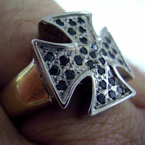 Limited Edition 14K 2 Tone Cross Ring