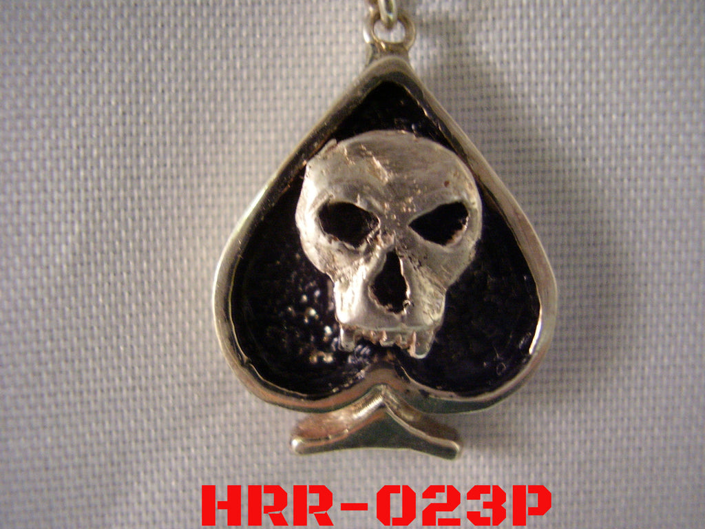 Ace of Skulls Pendant|Automotive Jewelry