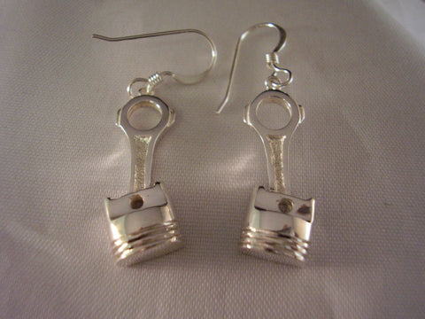 Big Block Piston Earrings