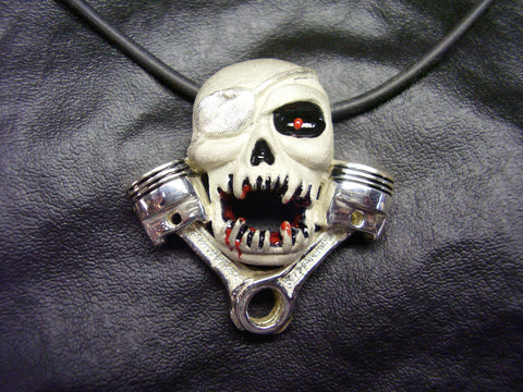Screaming Skull n' Pistons