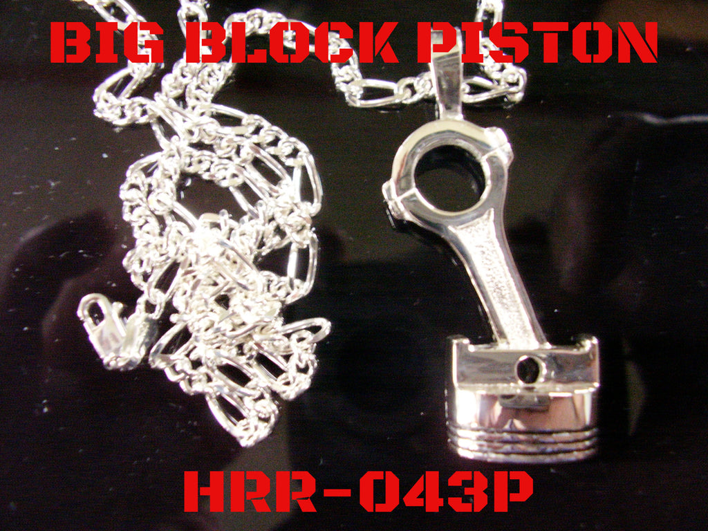 Big Block Piston Pendant