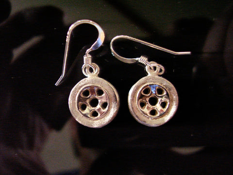 Wheel earrings