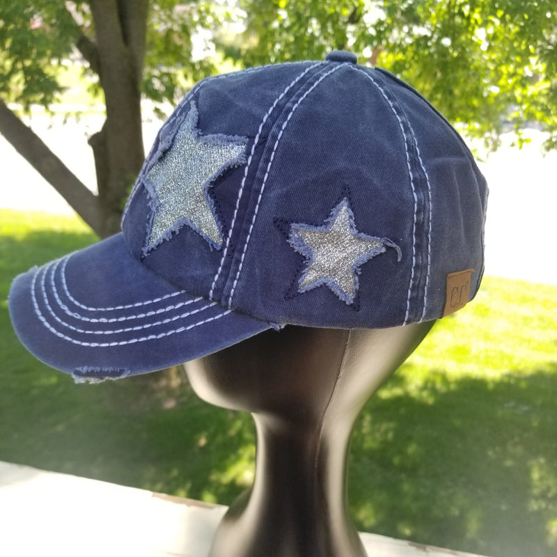 C.C. Baseball caps for women, 4th of July