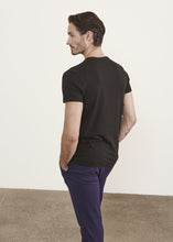 Load image into Gallery viewer, PATRICK ASSARAF ICONIC PIMA COTTON STRETCH T-SHIRT - Black