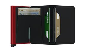 SECRID Slimwallet Matte Black/Red